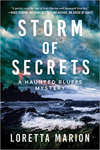 Storm of Secrets Author Interview, Review and Giveaway