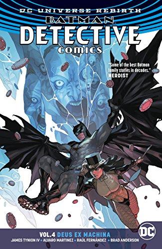 Batman Detecitve Comics Vol 4 Deus Ex Machina